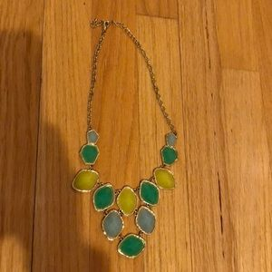 Sea colored Necklace